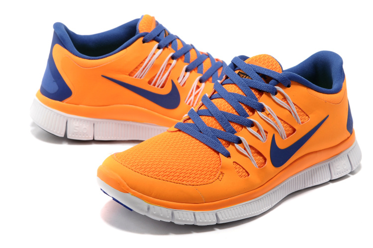 quality design d824d b6985 nike free run 5.0 blue and orange