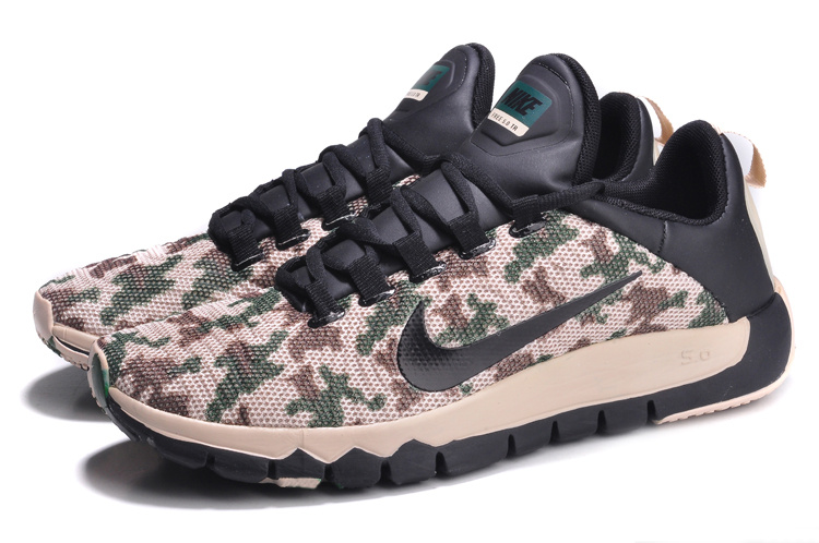 Nike Free Run 5.0 Army Black Shoes