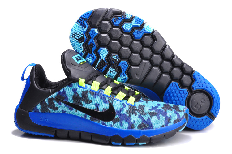 Nike Free Run 5.0 Blue Black Shoes