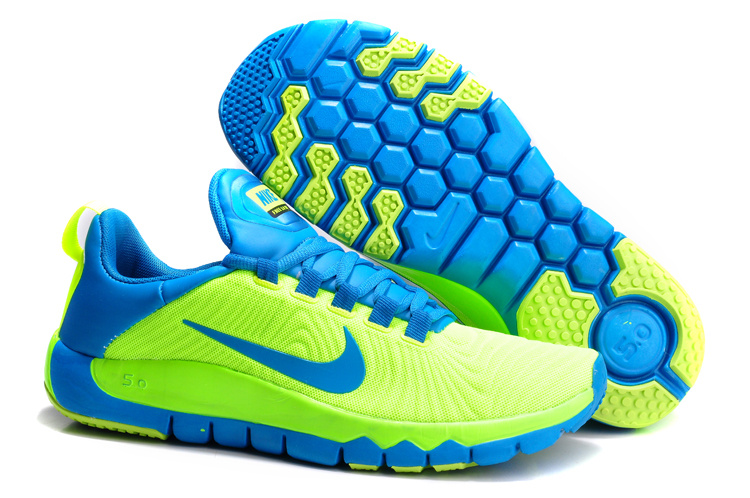 Nike Free Run 5.0 Green Black Shoes