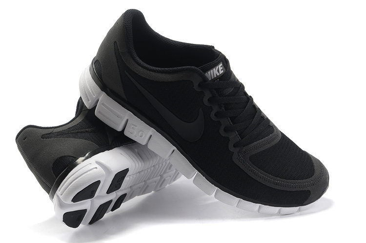 Nike Free Run 5.0 V4 Black White Shoes