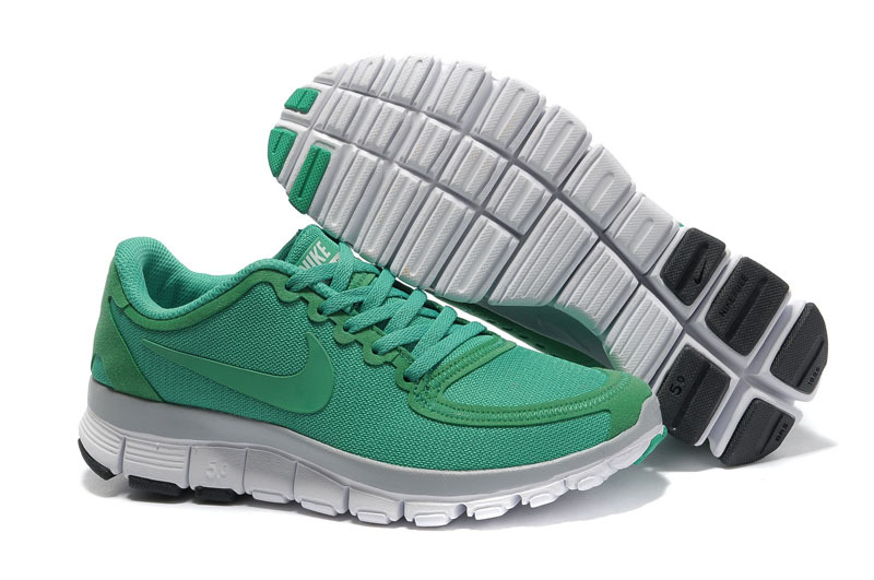 Nike Free Run 5.0 V4 Green White Shoes