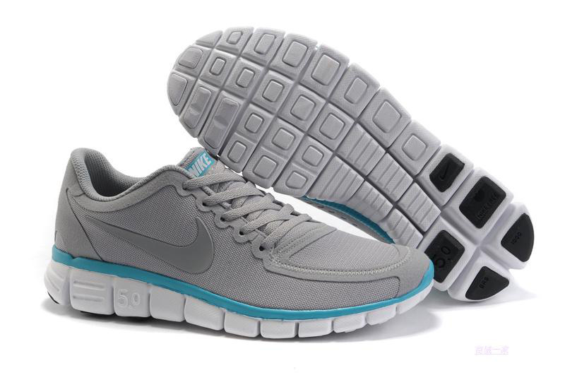 Nike Free Run 5.0 V4 Grey White Shoes