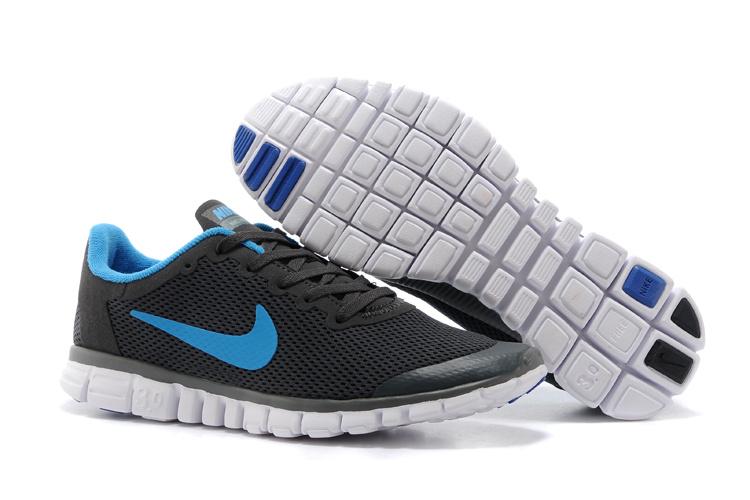 Nike Free Run.3.0 Boutique Black Blue Running Footwear