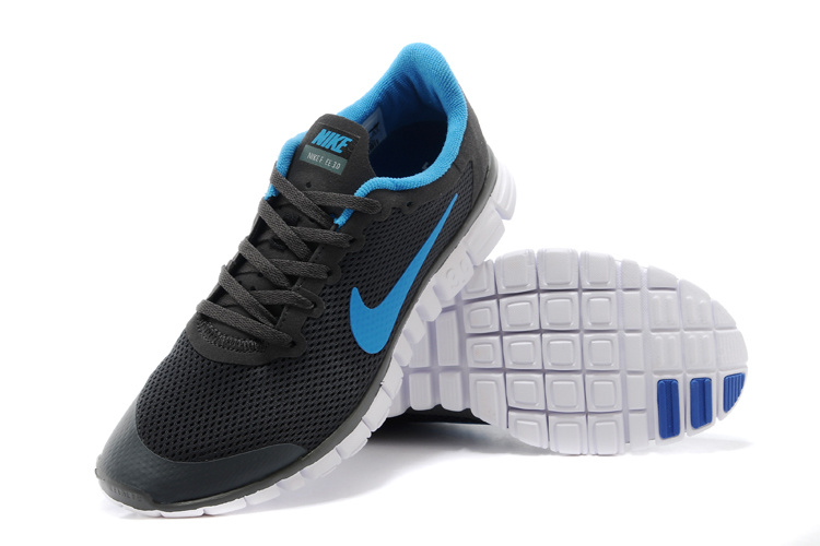 Nike Free Run.3.0 Boutique Black Blue Running Footwear