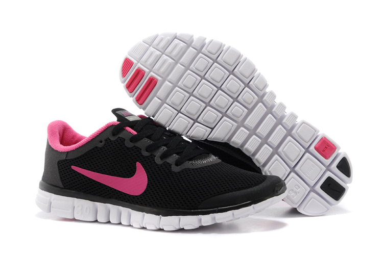 Nike Free Run.3.0 Boutique Black Pink Running Footwear