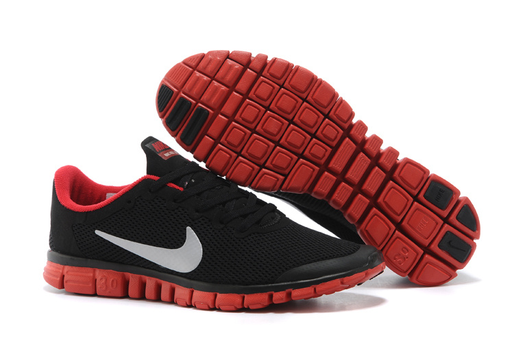 Nike Free Run.3.0 Boutique Black Red Running Footwear