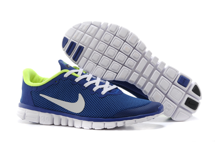 Nike Free Run.3.0 Boutique Blue White Running Footwear