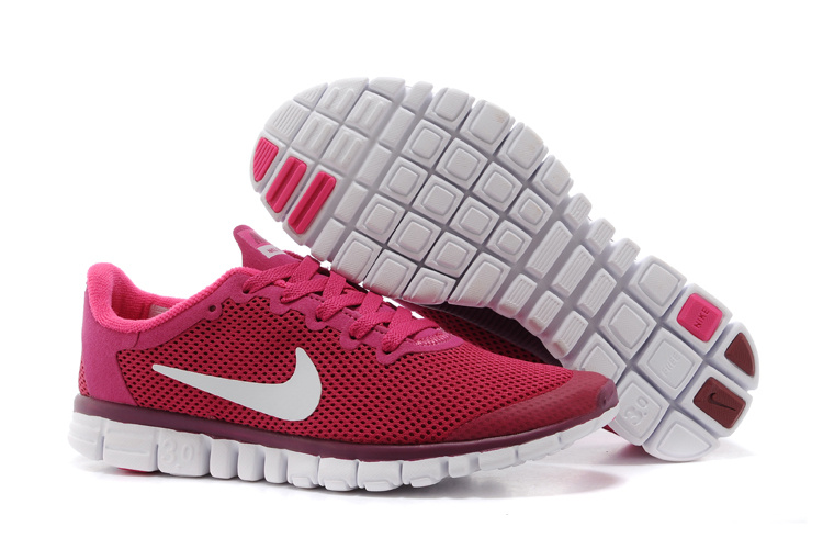 Nike Free Run.3.0 Boutique Pink White Running Footwear
