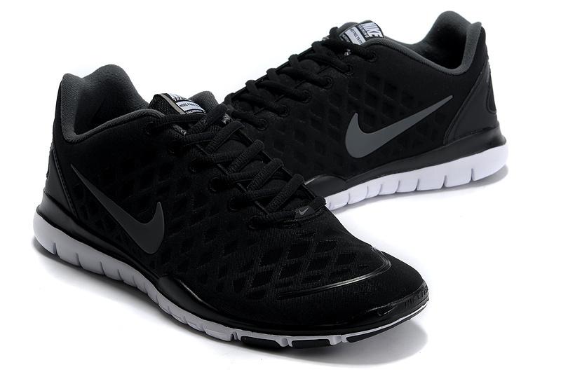 Nike Free TR Fit Dark Black Grey Running Shoes