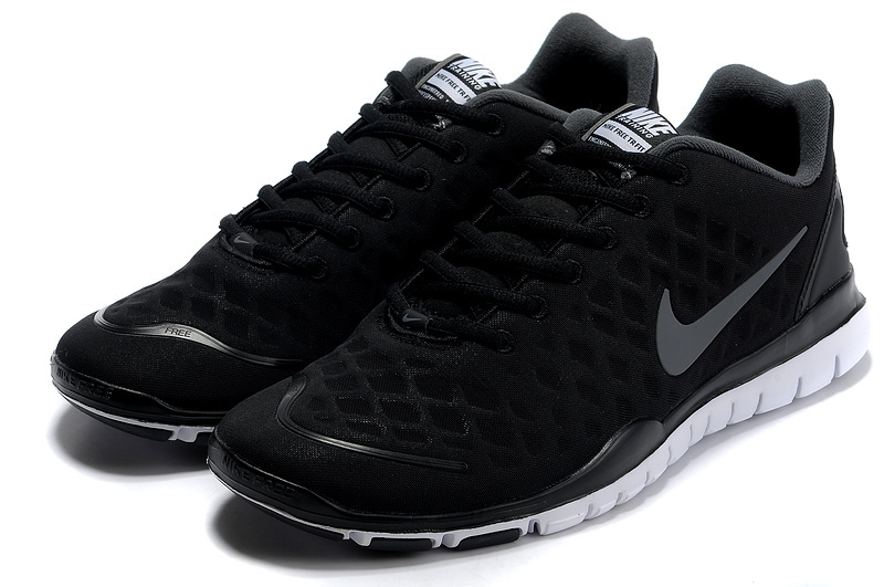 Nike Free TR Fit Dark Black Grey Running Shoes