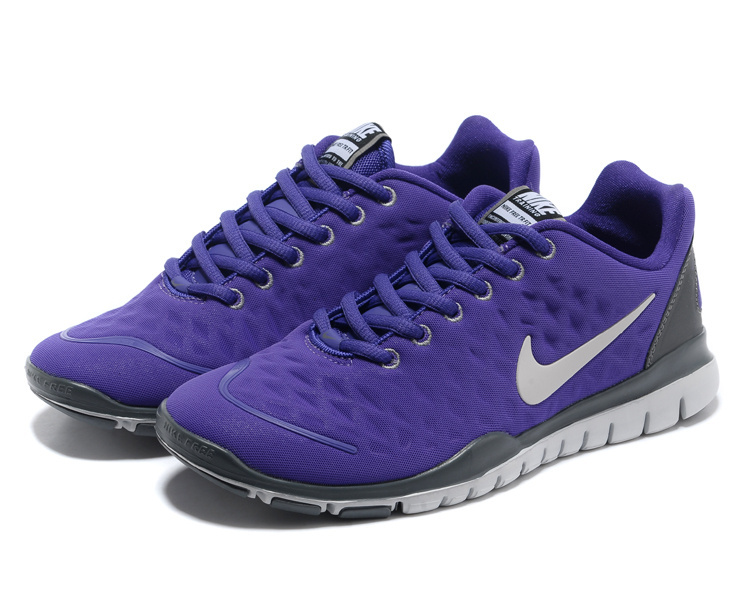 check out a6603 1dd89 Women Nike Free TR Fit Purple Running Shoes