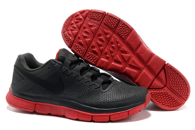 Nike Free Run 3.0 Trainer Black Red Shoes