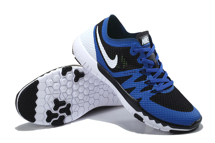 Nike Free Trainer 3.0 V3 Black Blue White Running Shoes