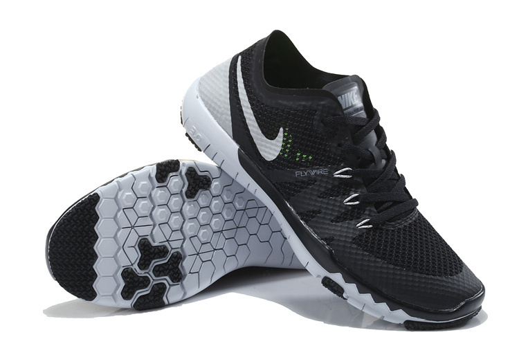Nike Free Trainer 3.0 V3 Black Grey Running Shoes
