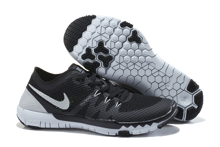 Nike Free Run 3.0 V3 Trainer Black Grey Shoes