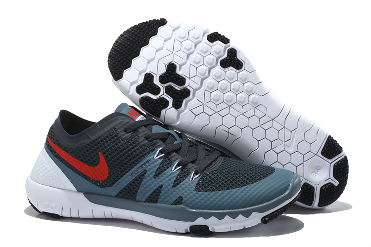 Nike Free Trainer 3.0 V3 Black White Red Running Shoes