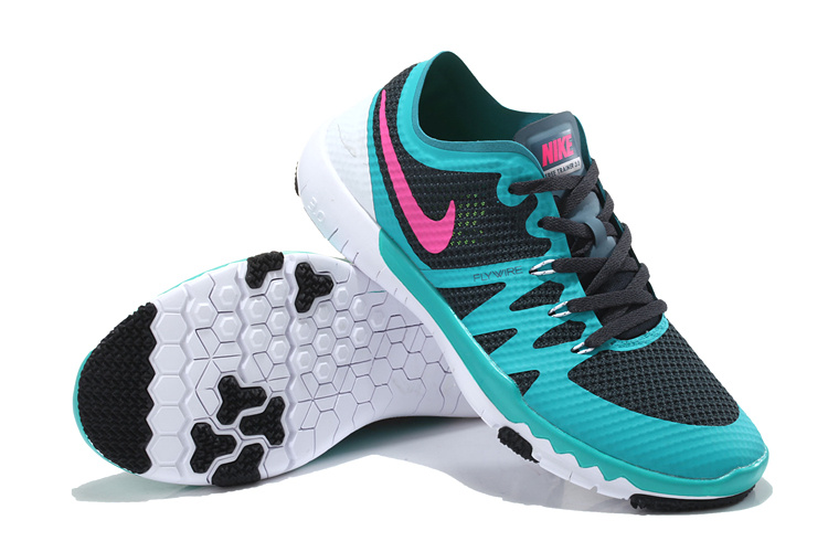 Nike Free Run 3.0 V3 Trainer Blue Black Pink Shoes For Women
