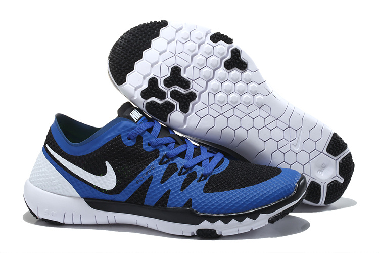 Nike Free Run 3.0 V3 Trainer Blue Black White Shoes