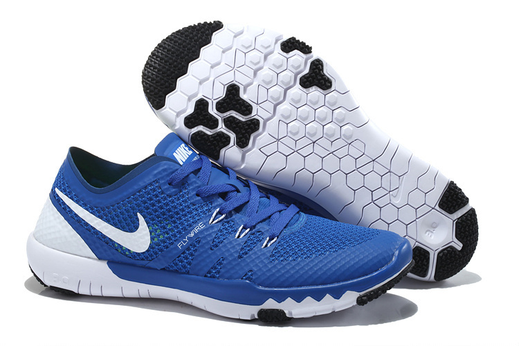 Nike Free Trainer 3.0 V3 Blue White Running Shoes