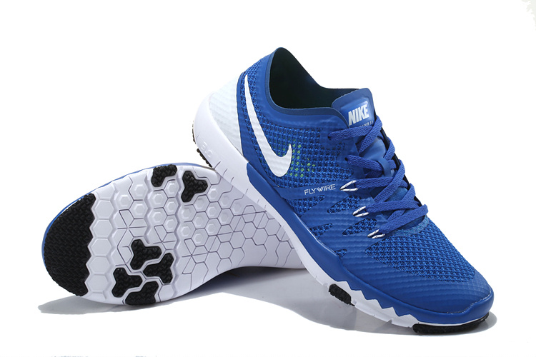 Nike Free Run 3.0 V3 Trainer Blue White Shoes