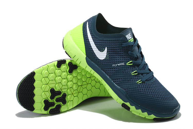 Nike Free Run 3.0 V3 Trainer Dark Blue Green Shoes