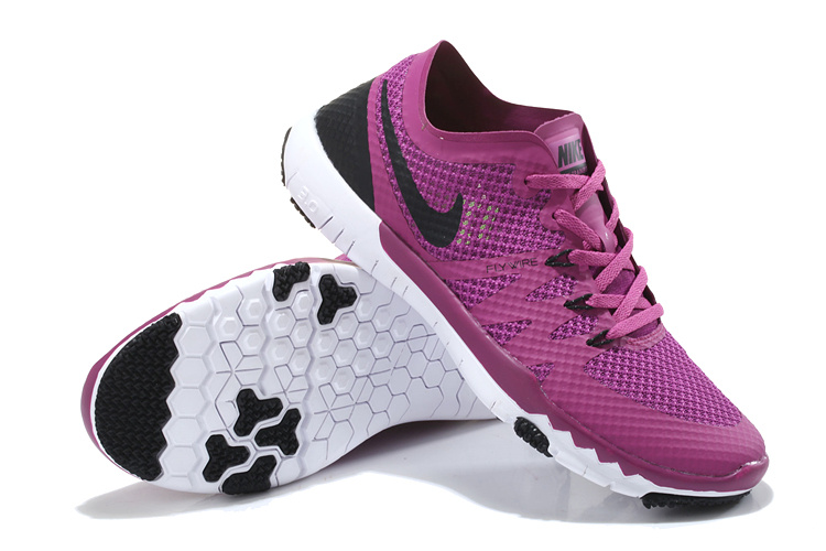 Nike Free Run 3.0 V3 Trainer Purple Black Shoes For Women