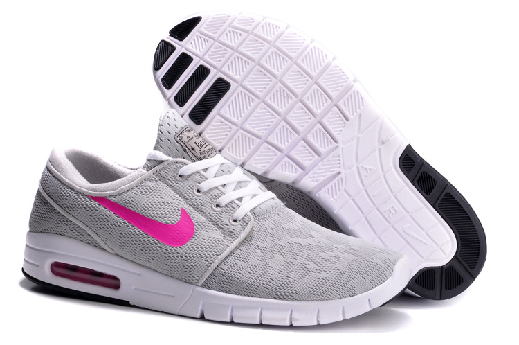Nike Koston 2 Max Shoes Grey Pink