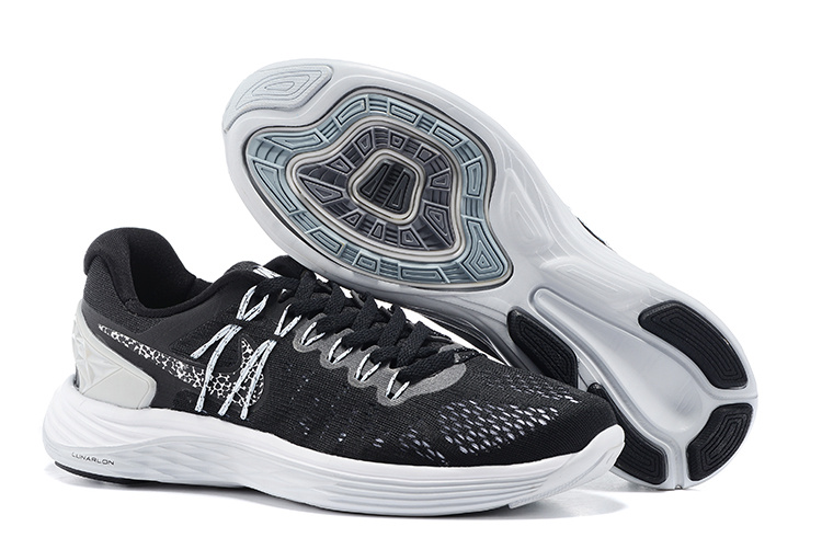 Nike Lunareclipes Black White Running Shoes