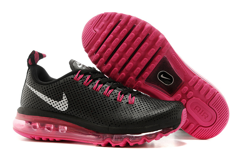Women Nike Max Motion 2014 Black Red