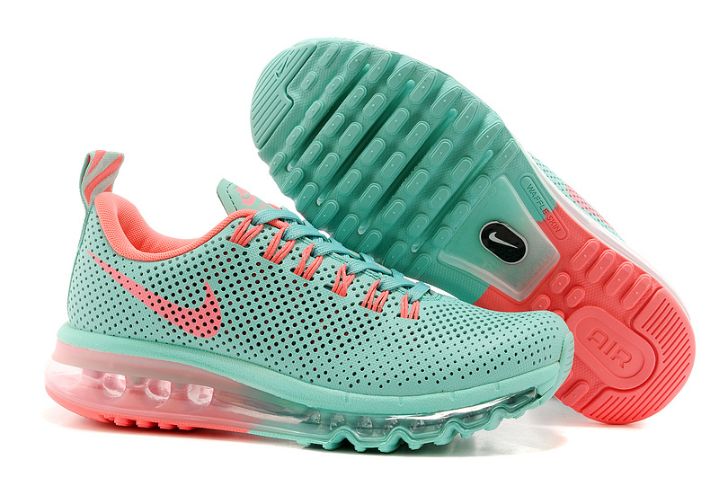 Women Nike Max Motion 2014 Green Orange