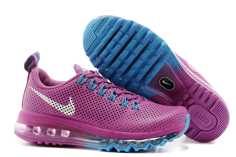 Women Nike Max Motion 2014 Purple Blue White