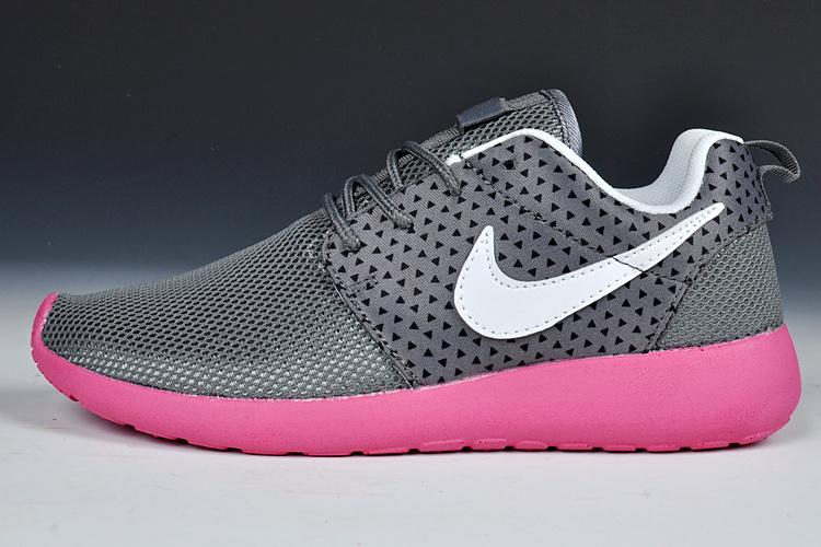 Nike Roshe Run Black Red Womens Shoes