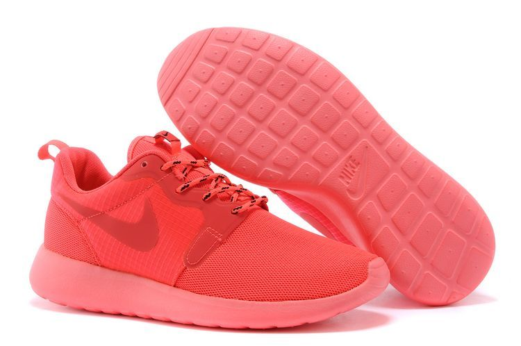 Nike Roshe Run Hyperfuse 3M Orange Pink Running Shoes