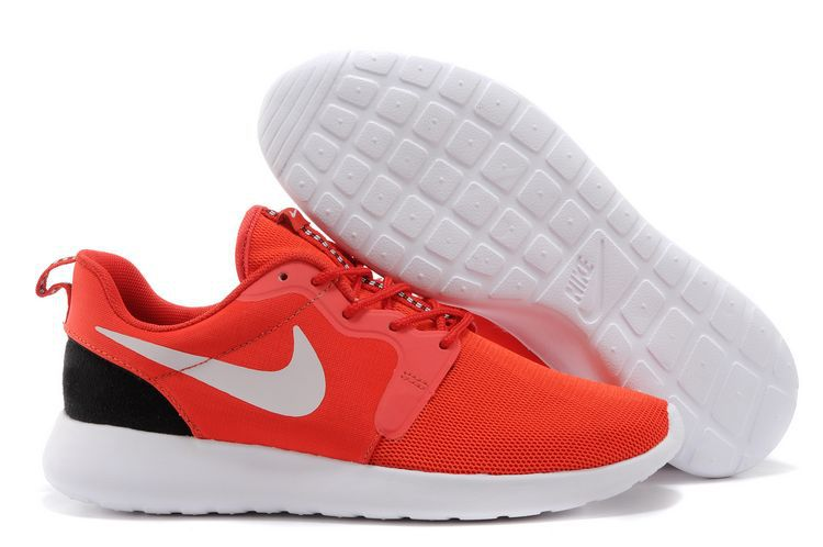 Nike Roshe Run Hyperfuse 3M Red Black White Shoes