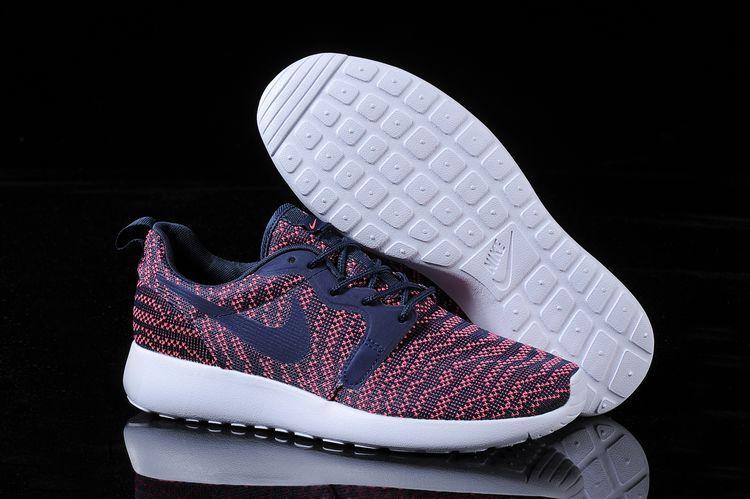 Nike Roshe Run KJCRD Red Blue White Shoes