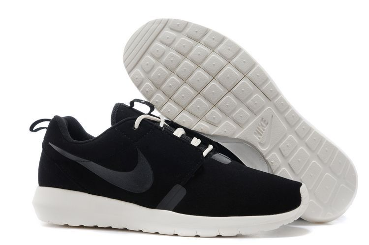 Nike Roshe Run NM 3M Midnight Black White Shoes