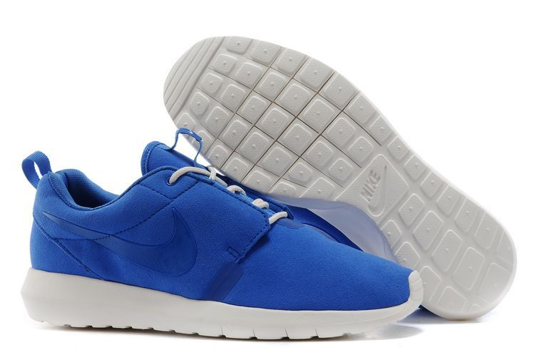Nike Roshe Run NM 3M Midnight Blue White Shoes