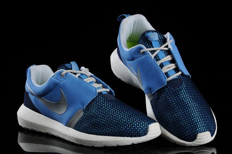 Nike Roshe Run NM BR 3M Baby Blue White Shoes