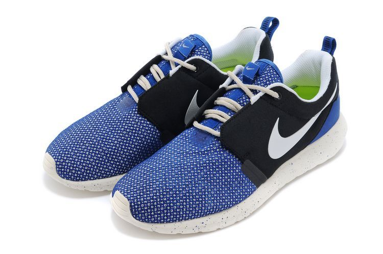 Nike Roshe Run NM BR 3M Blue Black White Shoes