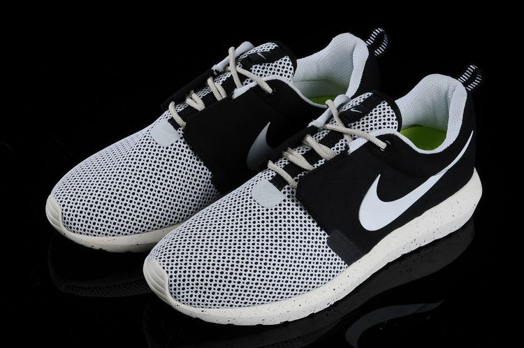 Nike Roshe Run NM BR 3M Grey Black White Shoes