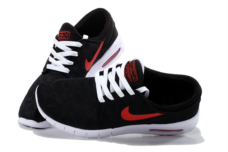 Nike SB Stefan Janoski Max Black Red White Men Shoes
