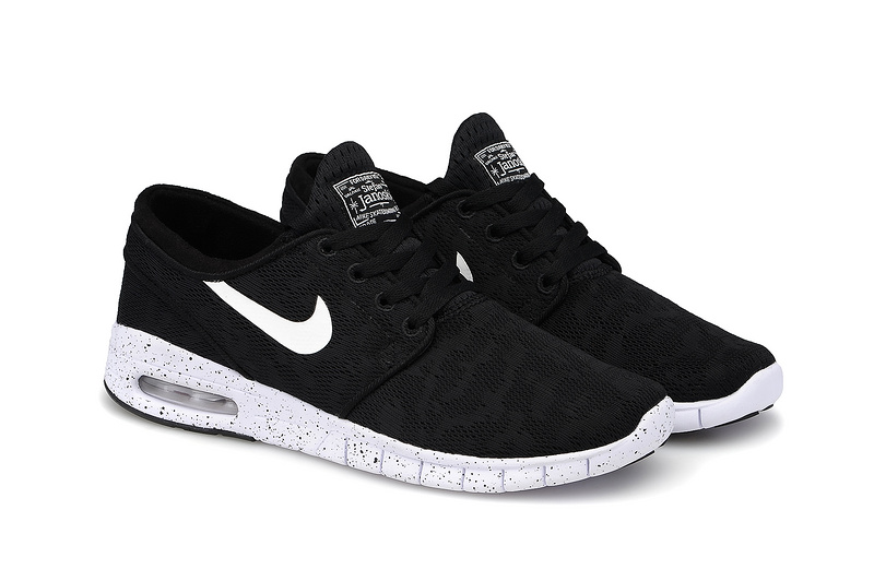 Nike SB Stefan Janoski Max Black White Men Shoes