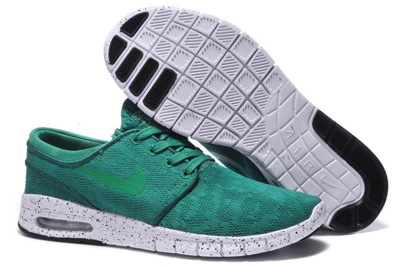 Nike SB Stefan Janoski Max Green White Men Shoes