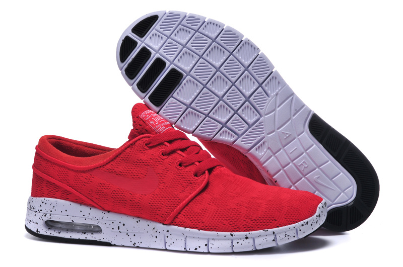 Nike SB Stefan Janoski Max Red White Men Shoes