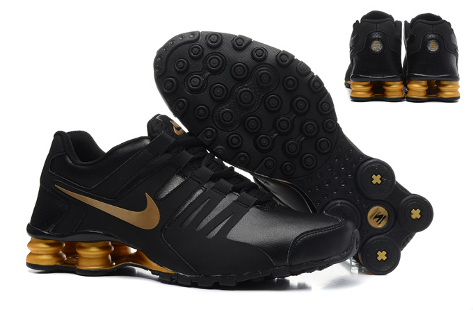 Nike Shox Current Shoes Black Gold