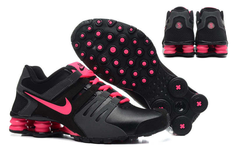 Women Shox Current Black Pink Shoes