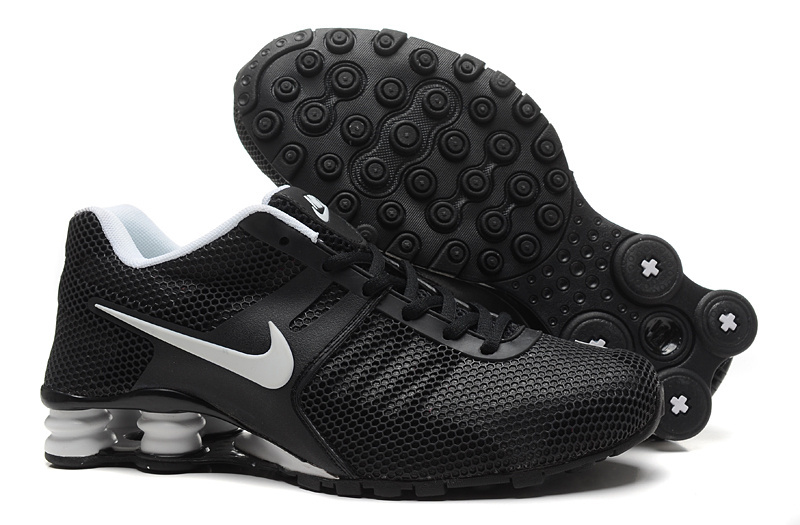 Nike Shox Current Mesh Black Grey Shoes