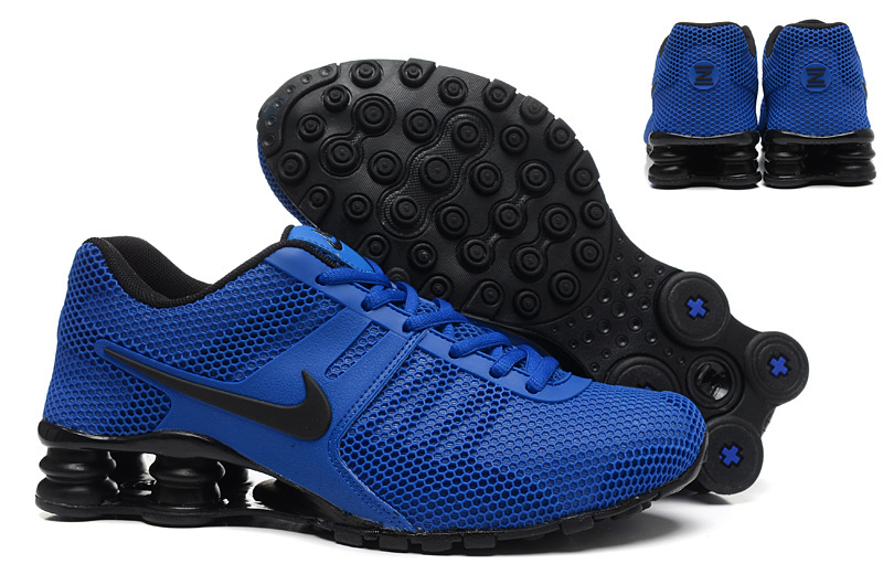 Nike Shox Current Mesh Blue Black Shoes