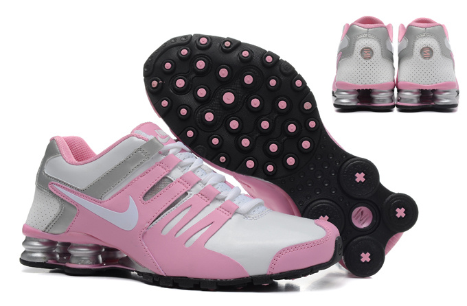 Women Shox Current Silver Pink Grey Shoes